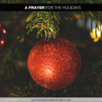Join Chandra Sparks Splond in Saying a Prayer for the Holidays