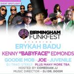 Erykah Badu and Babyface Headline the Birmingham Funkfest This Weekend
