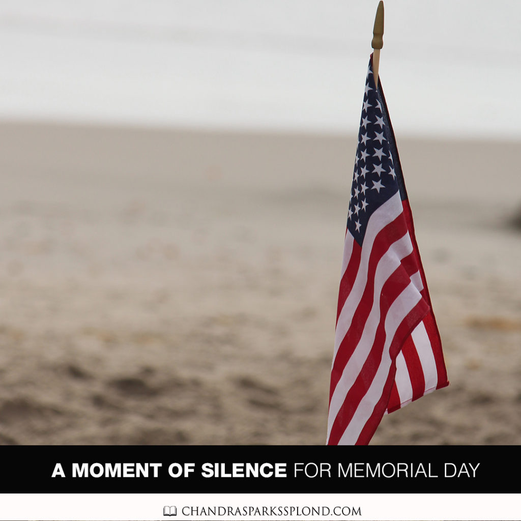 A Moment of Silence for Memorial Day