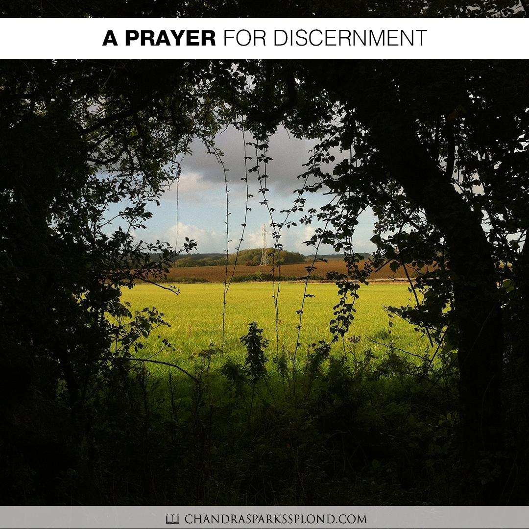 A Prayer for Discernment