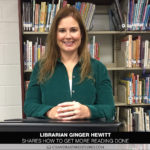 Librarian Ginger Hewitt Shares How to Get More Reading Done