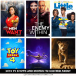 2019 Movies and Television Shows I'm Excited About