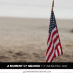Join Chandra Sparks Splond for a Moment of Silence for Memorial Day