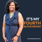Join Me in Celebrating My Fourth Blogiversary