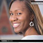 Meet Tanisia Moore, the January 2020 Momma of the Month